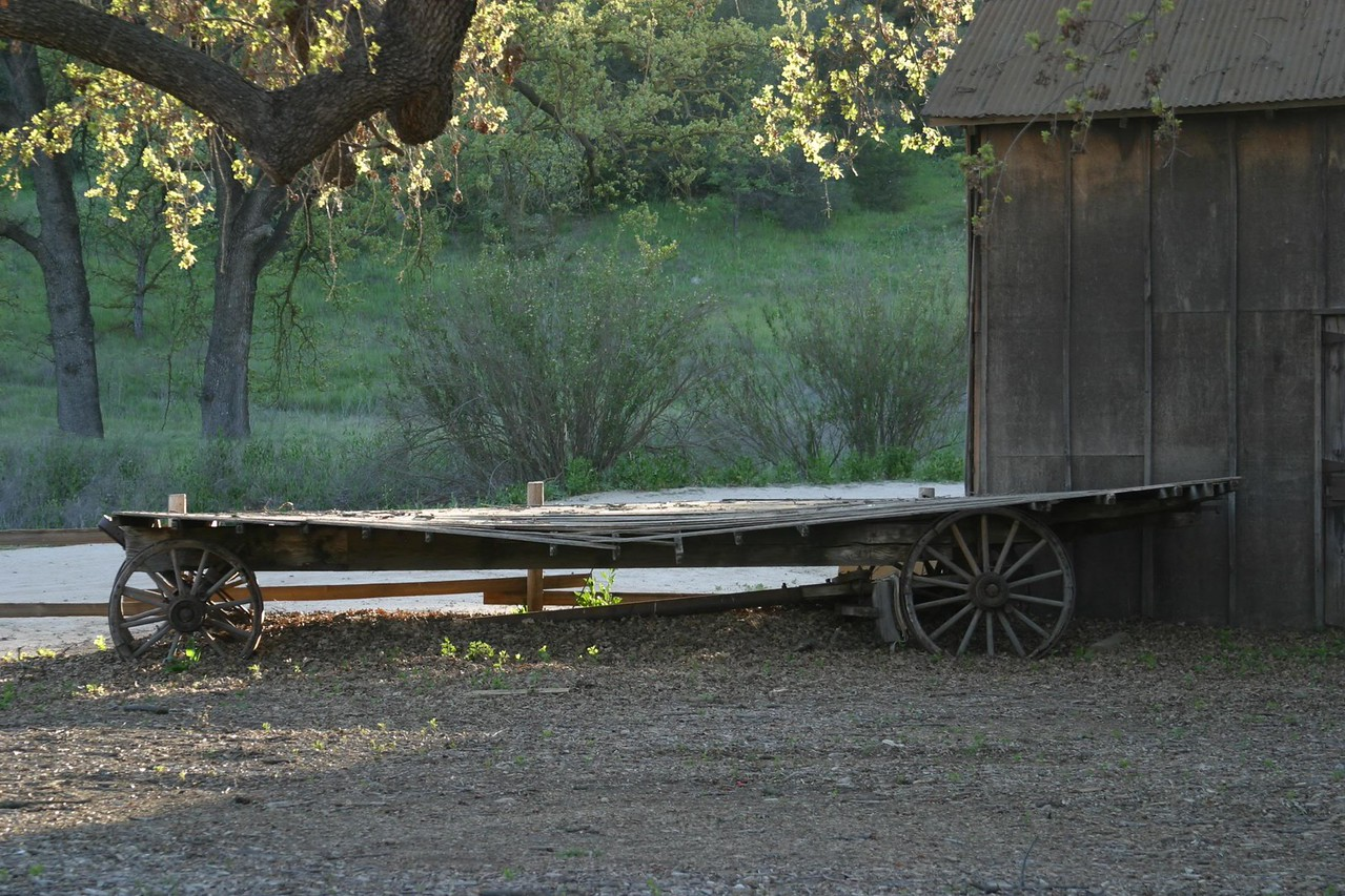 Paramount Ranch, CA - filming set for Hollywood