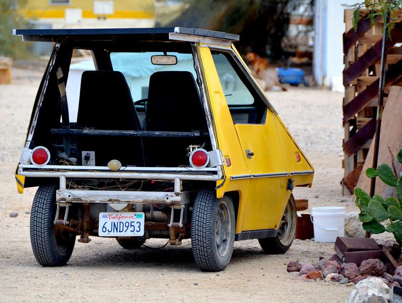 Solar powered car at The Sun Works