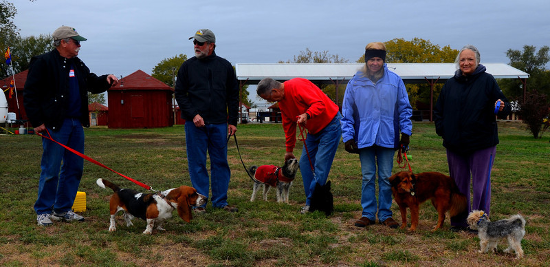 Our Camp Wood event resembled the Westminster Kennel Club Dog Show at times. The dogs all got plenty of attention from rally participants.