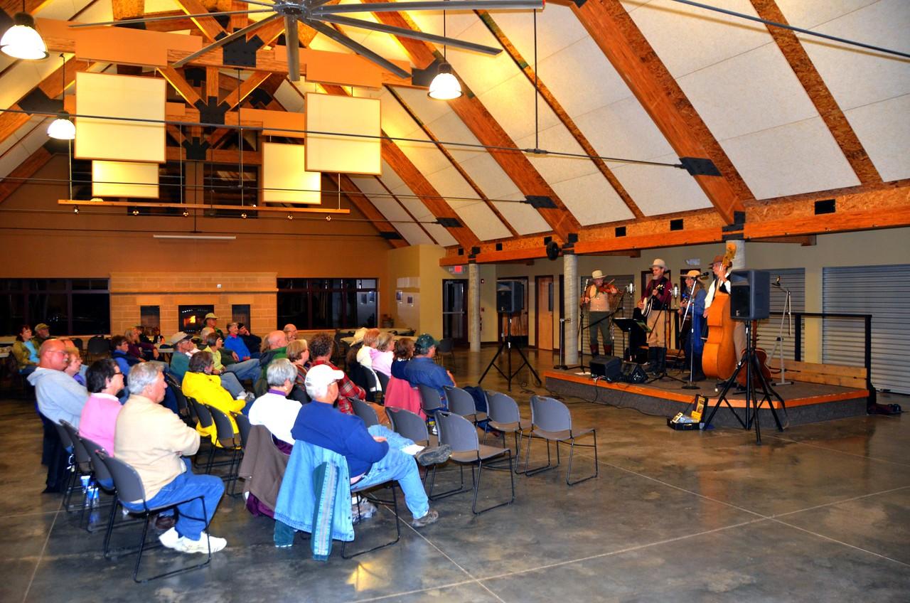 Tallgrass Prairie Express Event at Camp Wood.