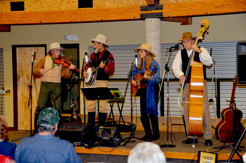 """Tallgrass Prairie Express performs for our group delighting us with their songs about the Tallgrass Prairie and the Flint Hills.<br /> <br />  <a href=""""http://tallgrassexpress.com/"""">http://tallgrassexpress.com/</a>"""