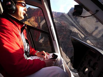 Our pilot Joe.