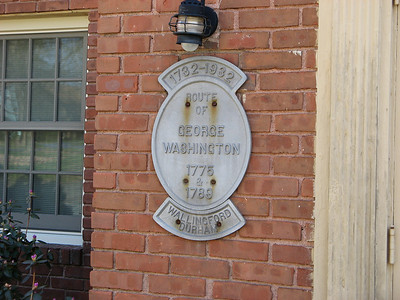 George Washington passed through Durham, CT in 1775 and again in 1789. Many of the homes that were on Main Street in Durham in 1775 are still there today.