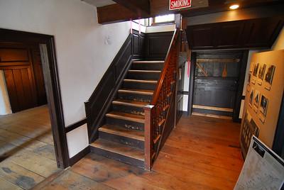 Van Campen Inn foyer, October 2012.