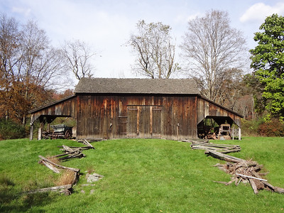 Old barn in Millbrook, NJ.