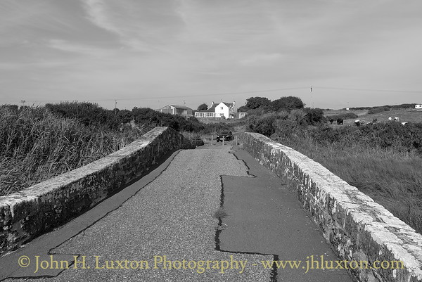 B4327 Mullock Bridge and Causeway, Dale, Pembrokeshire, Wales - August 23, 2016