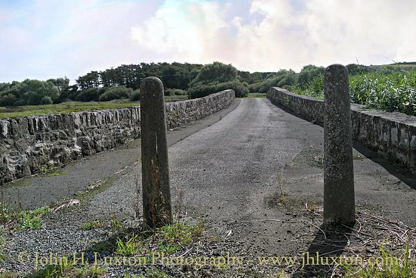 B4327 Mullock Bridge and Causeway, Dale, Pembrokeshire, Wales - August 23, 2016