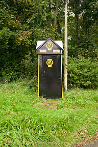 Automobile Association AA Box 580 , Boduan, Llŷn Peninsular, Wales  - October 07, 2017