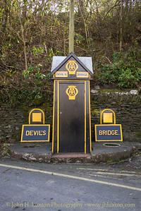 Automobile Association AA Box 289 - Devil's Bridge - Pontarfynach - Ceredigion, Wales - April 21, 2018