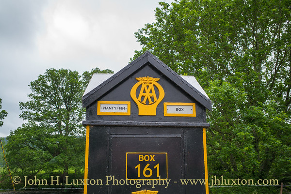 Automobile Association AA Box 161, Nantyffin, Crickhowell, Wales - May 31, 2019