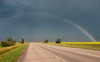 The Trans-Canada Highway in Saskatchewan. July, 2012.
