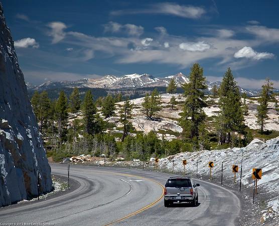 Highway 88 at Silver Lake