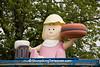 Antique A&W Baby Burger Statue, Cedar County, Iowa