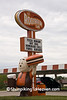 Old A&W Papa Burger Statue, LaSalle County, Illinois