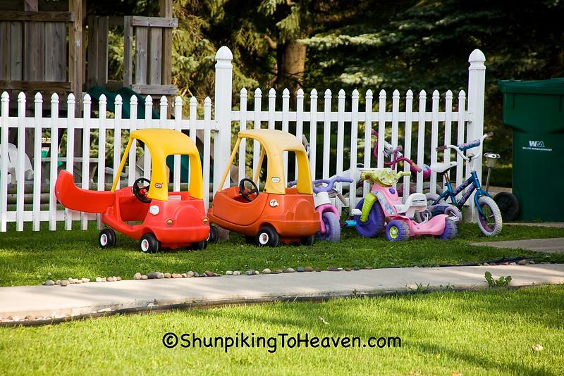 """""""Kiddie Parking Lot"""", Rock County, Wisconsin"""