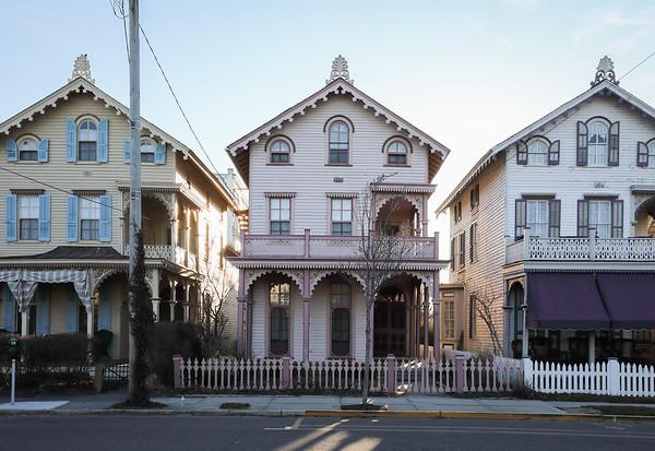 Three Vicorian Houses