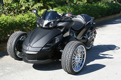 CHROME WHEEL SPYDER