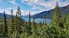 Muncho Lake between Fort Nelson and Watson Lake