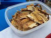 Dried fish treat