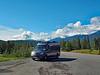 Road stop by Jasper, Alberta