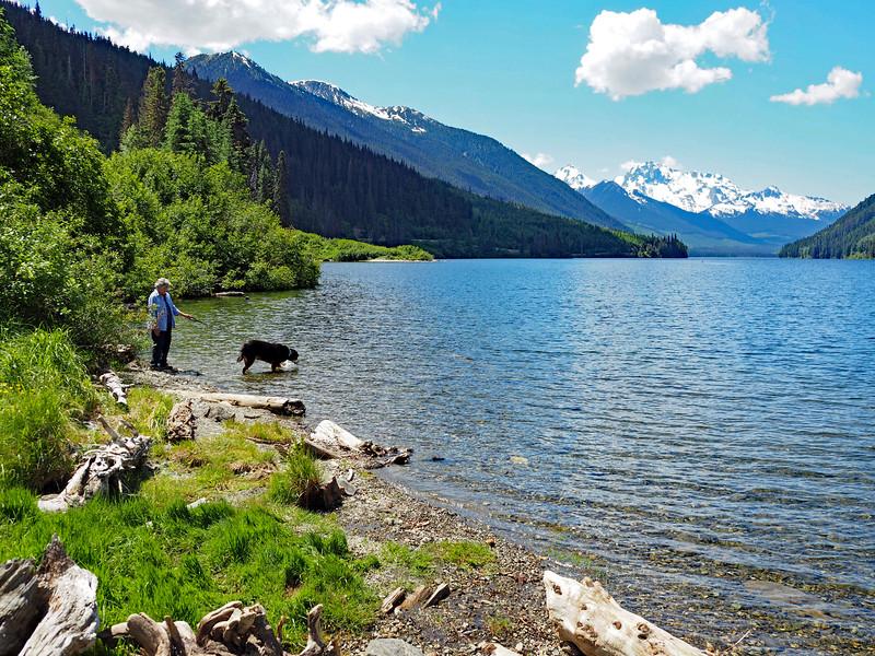 Duffy Lake refreshments