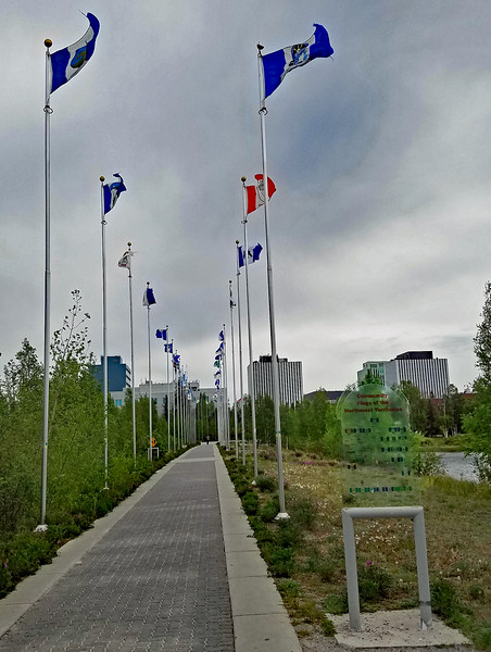 Community flags of the Northwest Territories