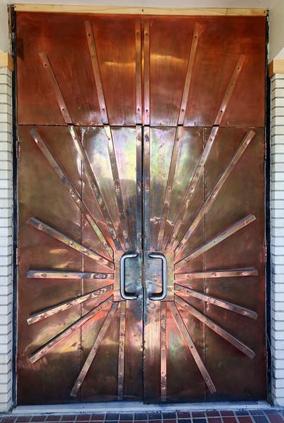 Northern Lights Museum Door