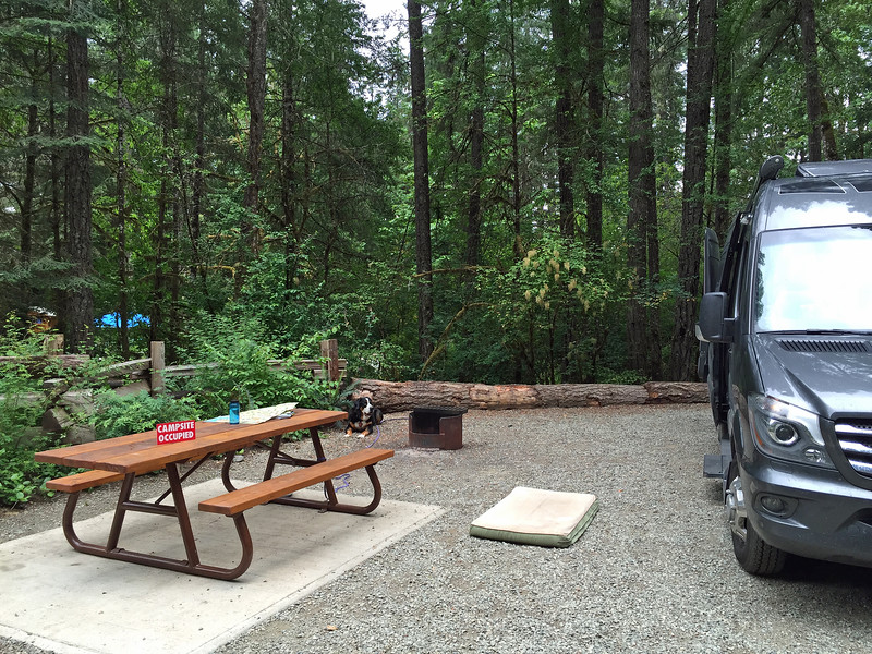 Sproat Lake Provincial Park campground