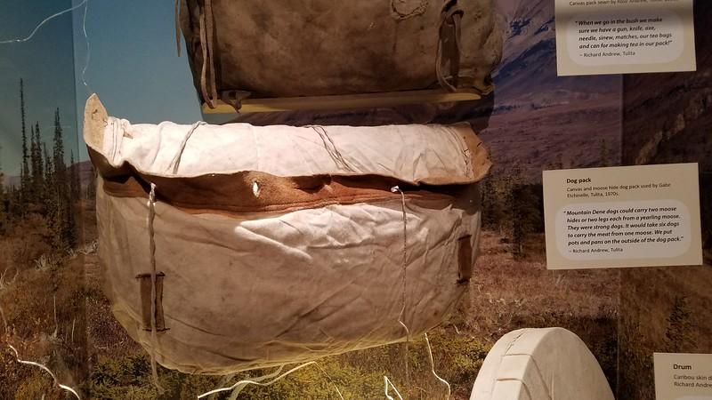 A Moose hide dog pack