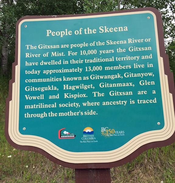 10,000 years of Native Gitxsan people
