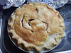 Camp host was kind enough to bake us a fresh apple pie
