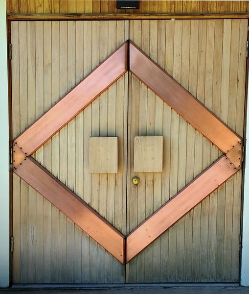 Fort Smith Visitors Center Door