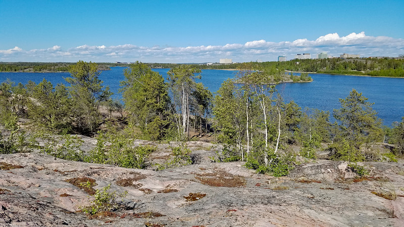More of Frame Lake in Yellowknife