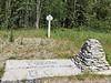 Mile marker at Yukon/BC border