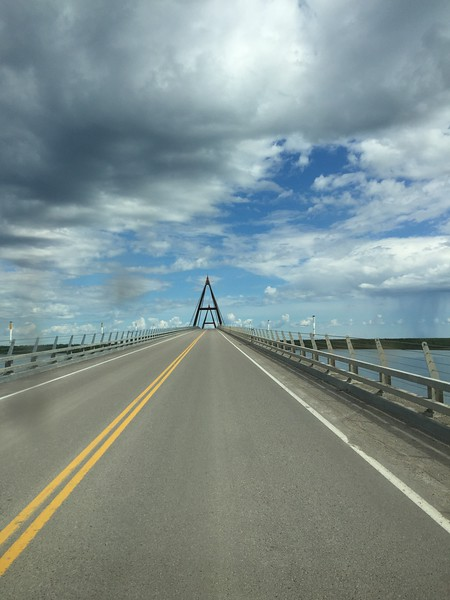 The longest jointless bridge in North America