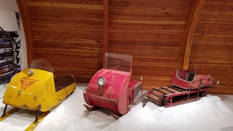 Modern winter transportation