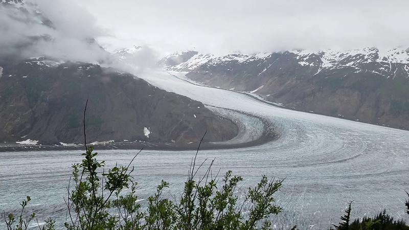 A video of the Salmon Glacier
