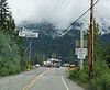 Crossing back into Stewart BC from Hyder Alaska