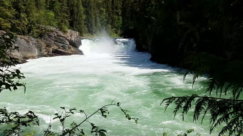 Overlander Falls, Mt Robson Provincial Park
