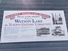 Made camp at Watson Lake, Yukon