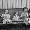 Hutterite children.