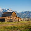 Old Barn just outside of Grand Teton National Park, WY