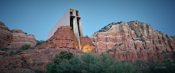 Cathedral in the Rocks, Sedona, Arizona 2020 7 1