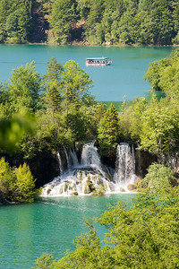 Plitvice National Park, Croatia - boat