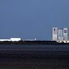 NASA : launch pad & Space Shuttle Storage Buildings