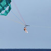 Just people having fun parasailing...