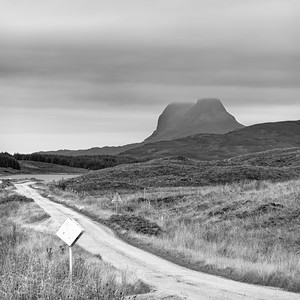 Suilven from the road to Lairg