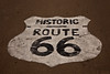 Historic Route 66 Pavement Sign, Livingston County, Illinois