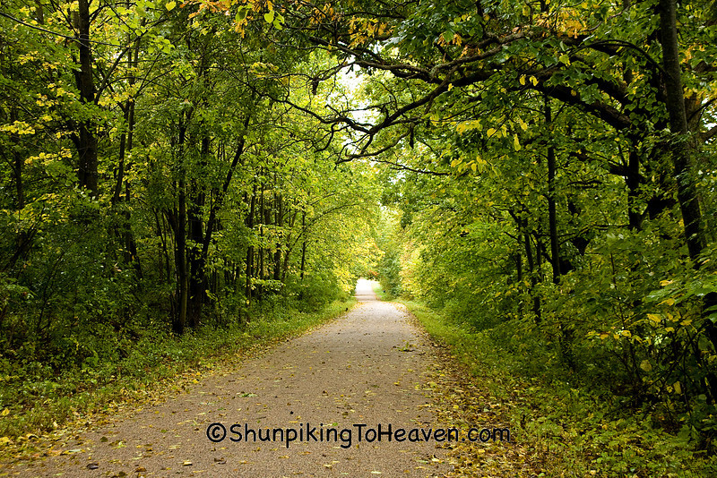 The Start of Autumn, Waupaca County, Wisconsin