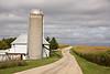 Round Barn Farm Scene, Rustic Road #56, Vernon County, Wisconsin